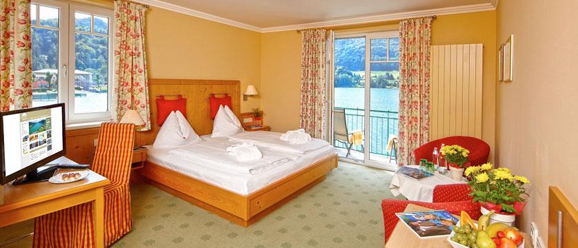 Hotel Seerose, Fuschl, Salzkammergut, Austria - Twin bedroom with lake view.jpg